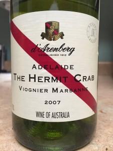 2007 Darenberg Winery Viognier-Marsanne