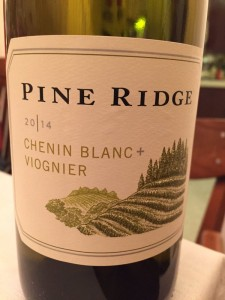 2014 Pine Ridge Winery Chenin Blanc-Viognier