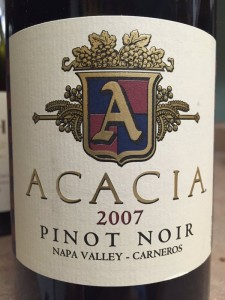 2007 Acacia Vineyard PinotNoir