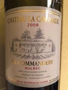 2008-ChateauLaCaminade-Cahors