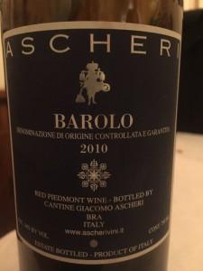 2010 Cantine Ascheri Barolo