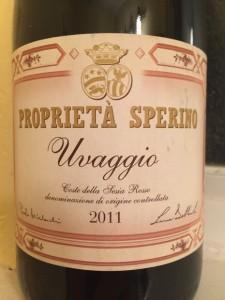 2011 Proprieta Sperino Uvaggio