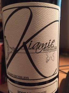 2007 Kiamie Winery Meritage