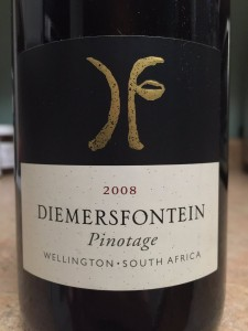 2008 Diemersfontein Wellington South Africa Pinotage