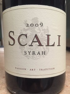 2009 Scali Wines South Africa Syrah