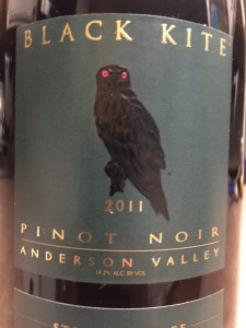2011 Black Kite Wines Anderson Valley Pinot Noir