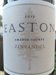 2013 Easton Amador County Zinfandel
