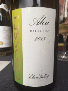 2013 Grosset Wines Alea Clare Valley Riesling