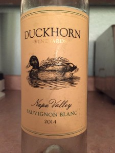 2014 Duckhorn Winery Napa Valley Sauvignon Blanc