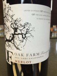 2014 Oak Farm Vineyards Merlot
