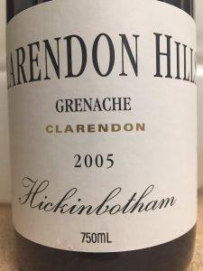 2005-clarendon-hills-hickinbotham-grenache